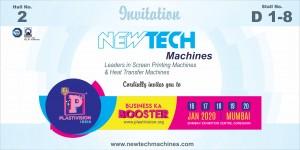 NEWTECH Plastivision INDIA Exhibition Invitation 16-20 Jan 2020 web x4